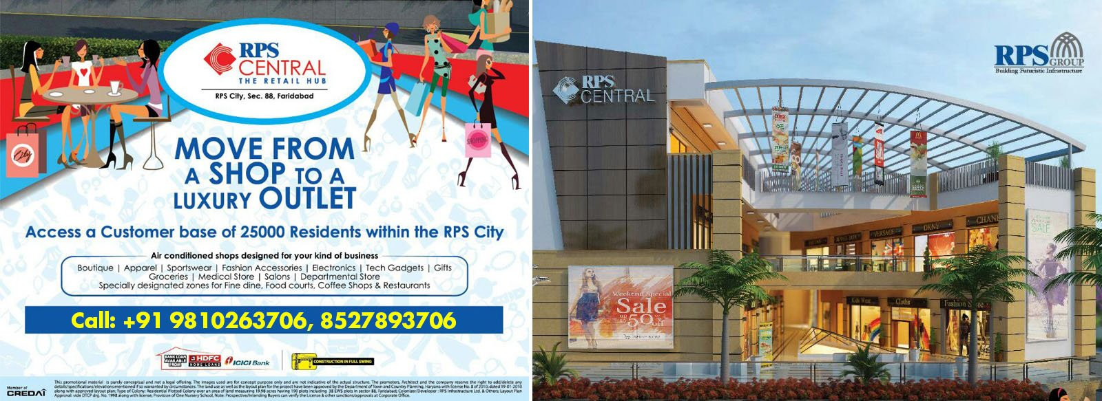 Buy RPS Savana Shops Sector-88 of Faridabad